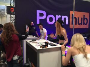PornHub Stand at AEE